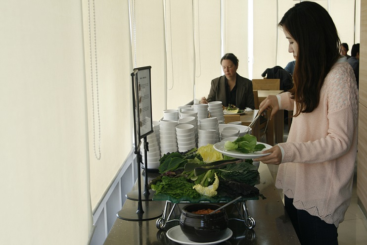 "Temple  Food  Helps  Flourish  ""OurHome"""