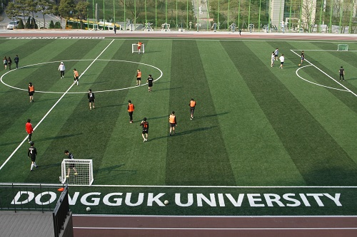 Remodeled Main Stadium Opens to Donggukians