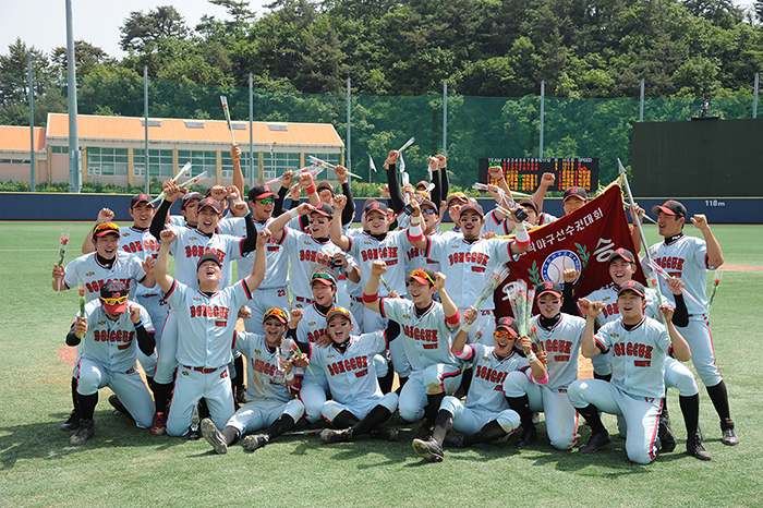 Another Victory for Dongguk Baseball Team
