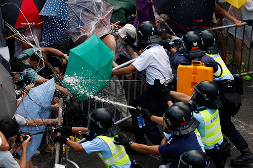 Hong Kong Raises Its Voice for Democracy