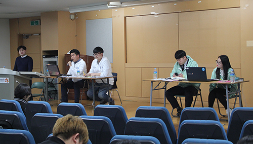 The Second Open Hearing of Candidates for the Student Council of the College of Social Science Took Place