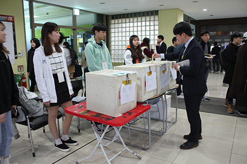 The By-election of Student Councils, Held Under Controversies