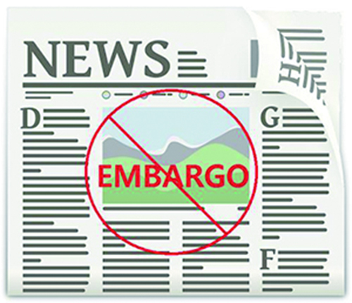 Embargo: Controversy on Safety and Right to Know