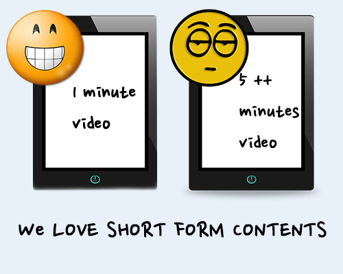 The Craze for Short-Form Content on Mobile Platforms