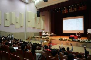 The General Student Representatives' Meeting for the First Half of the Year Was Held